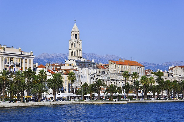Split - Miasto portowe nad Morzem Adriatyckim